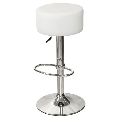 House Additions Button Swivel Adjustable Bar Stool