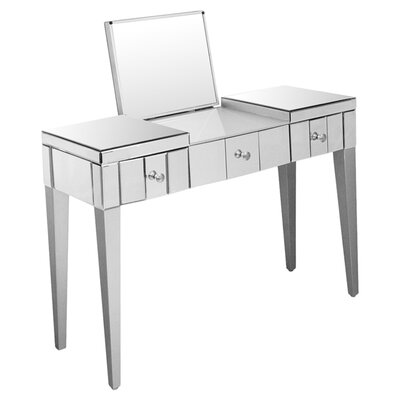 Home Essence Console Table and Mirror Set