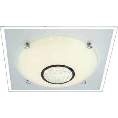House Additions Amada 1 Light Flush Ceiling Light