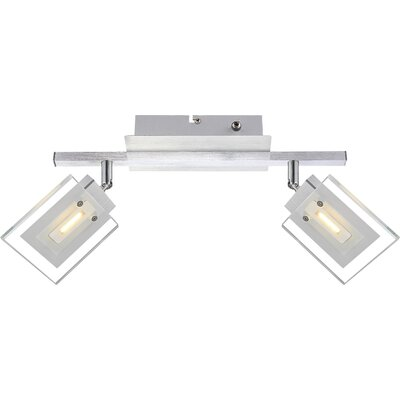 House Additions Aurele 2 Light Ceiling Spotlight