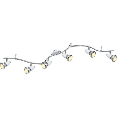 House Additions Bianka 6 Light Ceiling Spotlight