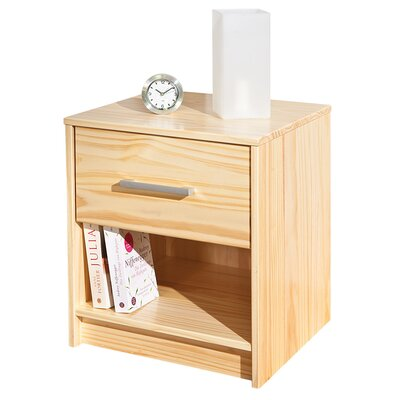 House Additions Bowie 1 Drawer Bedside Table