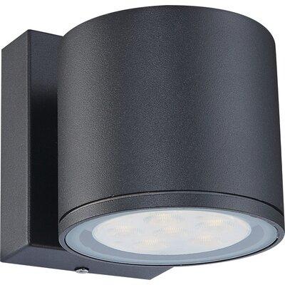 House Additions Carpo 1 Light Semi-Flush Wall Light