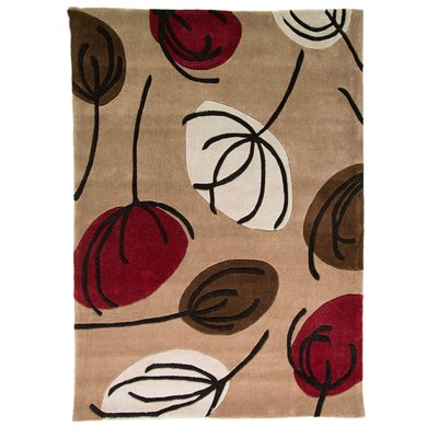 House Additions Ciampa Hand-Tufted Brown Area Rug