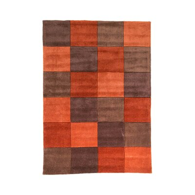 House Additions Ciampa Hand-Tufted Red Area Rug