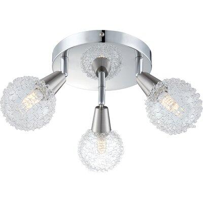 House Additions Cicer 3 Light Ceiling Spotlight