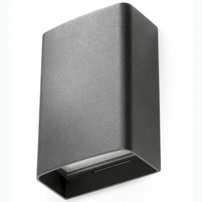 House Additions Basic 2 Light Outdoor Flush Mount