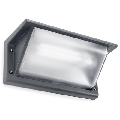 House Additions Curie 1 Light Outdoor Flush Mount
