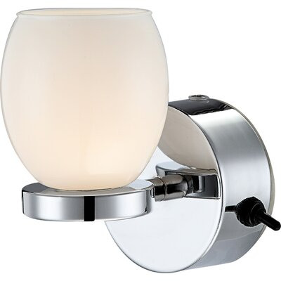 House Additions Dano 1 Light Semi-Flush Wall Light