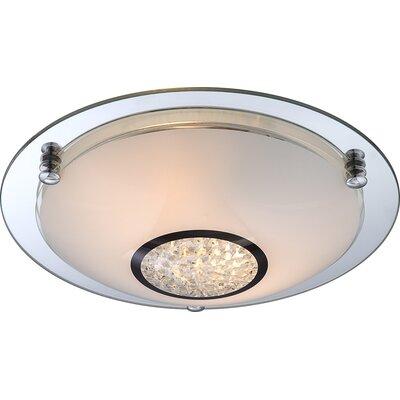 House Additions Edera 2 Light Flush Ceiling Light