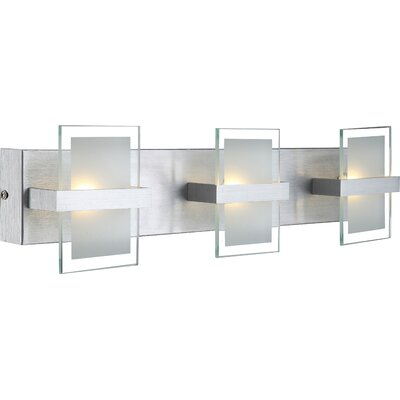 House Additions Enisa 3 Light Semi-Flush Wall Light