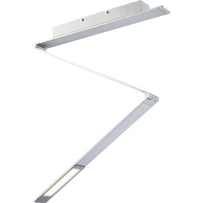 House Additions Estelar 1 Light Semi-Flush Ceiling Light
