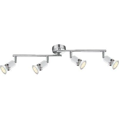 House Additions Fina 4 Light Semi-Flush Ceiling Light