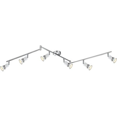 House Additions Fina 6 Light Semi-Flush Ceiling Light