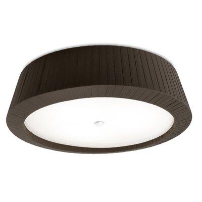 House Additions Florencia 3 Light Flush Ceiling Light