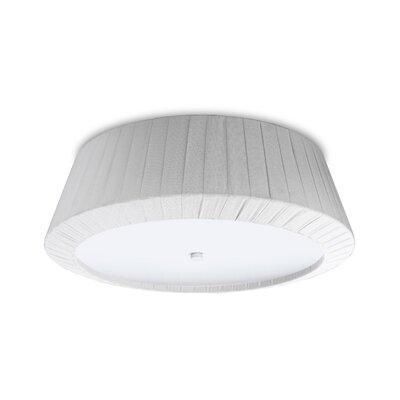 House Additions Florencia 2 Light Flush Ceiling Light