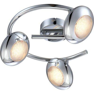 House Additions Gilles 3 Light Semi-Flush Ceiling Light