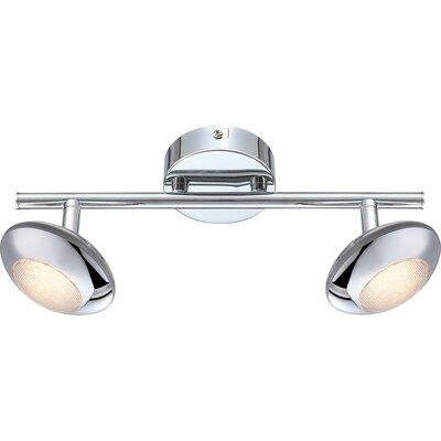 House Additions Gilles 2 Light Ceiling Spotlight