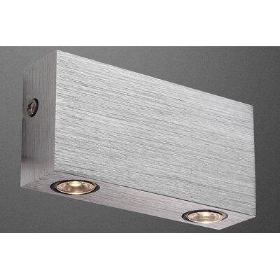 House Additions Gordon 2 Light Flush Wall Light