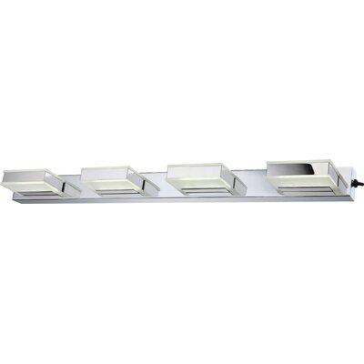 House Additions Harper 4 Light Semi-Flush Wall Light