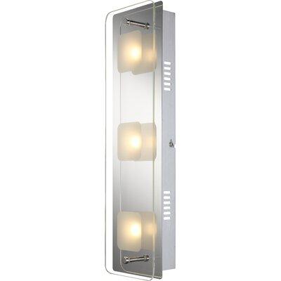 House Additions Jemina 3 Light Flush Wall Light