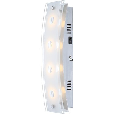 House Additions Kadira 4 Light Flush Wall Light