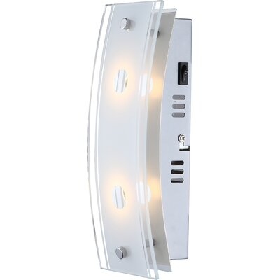 House Additions Kadira 2 Light Flush Wall Light