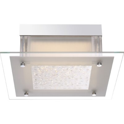 House Additions Leah 1 Light Flush Ceiling Light