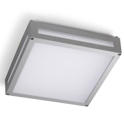 House Additions Leggett 1 Light Outdoor Flush Mount