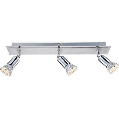 House Additions Levon 3 Light Semi-Flush Ceiling Light