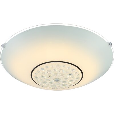 House Additions Louise 1 Light Flush Ceiling Light