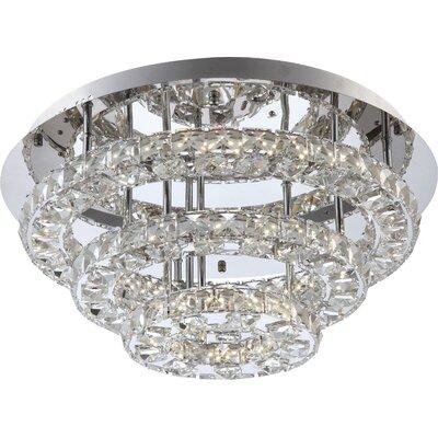 House Additions Marilyn I 1 Light Flush Ceiling Light
