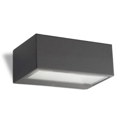 House Additions Nemisis 1 Light Outdoor Flush Mount