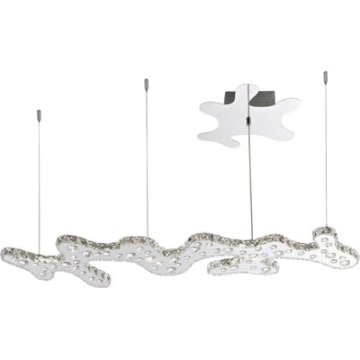 House Additions Nube 1 Light Crystal Pendant