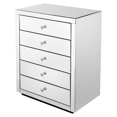 House Additions 5 Drawer Chest of Drawers