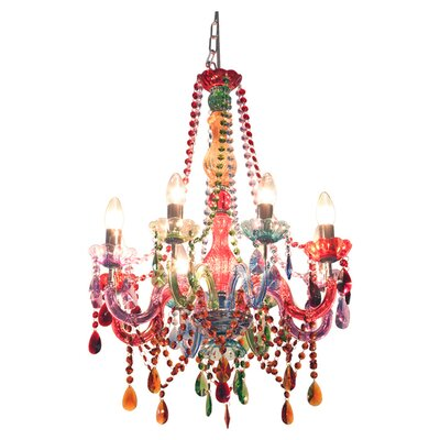 House Additions Gypsy 8 Light Crystal Chandelier