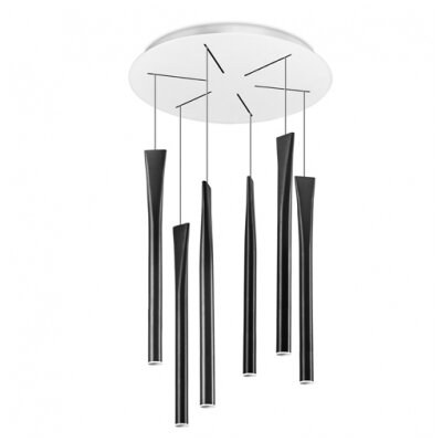 House Additions Rocket 6 Light Cascade Pendant