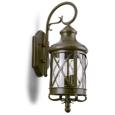 House Additions 3 Light Outdoor Wall Lantern