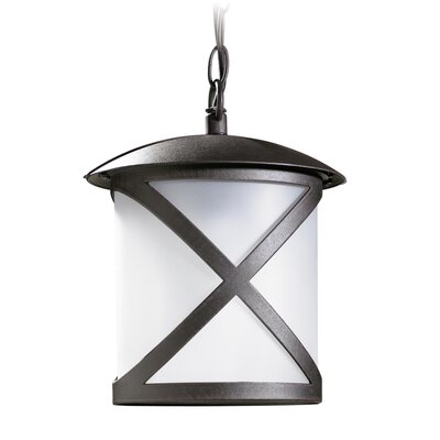 House Additions Cross 1 Light Outdoor Hanging Lantern