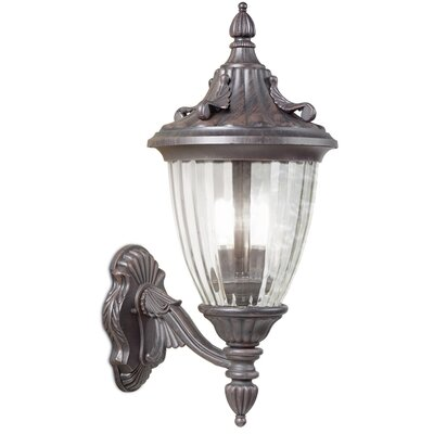 House Additions 3 Light Outdoor Sconce