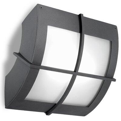 House Additions Windows 1 Light Outdoor Flush Mount
