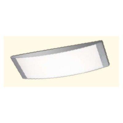 House Additions Alpen Long 2 Light Flush Ceiling Light