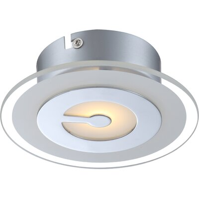 House Additions Zou 1 Light Flush Ceiling Light
