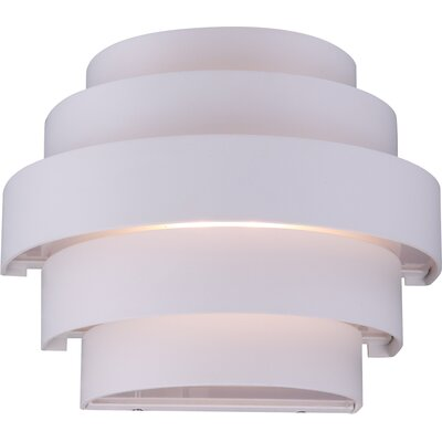 House Additions Nuvian 2 Light Outdoor Flush Mount