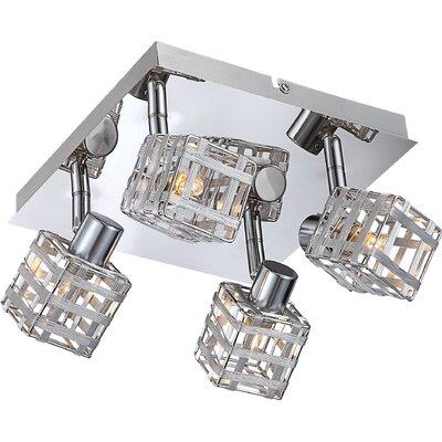 House Additions 4 Light Ceiling Spotlight