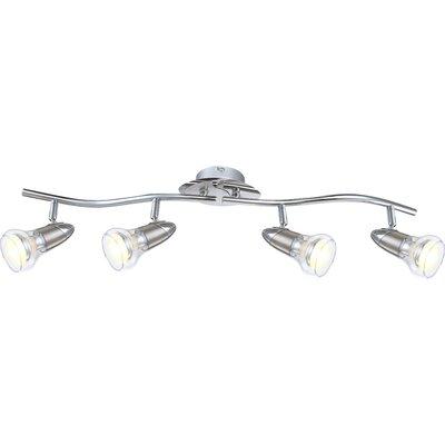 House Additions 4 Light Semi-Flush Ceiling Light