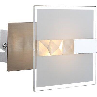 House Additions 1 Light Semi-Flush Wall Light