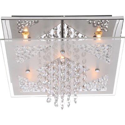 House Additions 5 Light Flush Ceiling Light