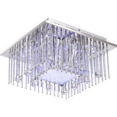 House Additions Sayuri 6 Light Flush Ceiling Light