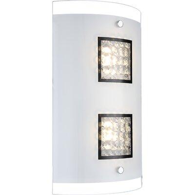 House Additions 2 Light Flush Wall Light